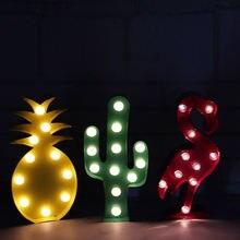 Adeeing 3d Настольная лампа с персонажами из мультфильмов для
