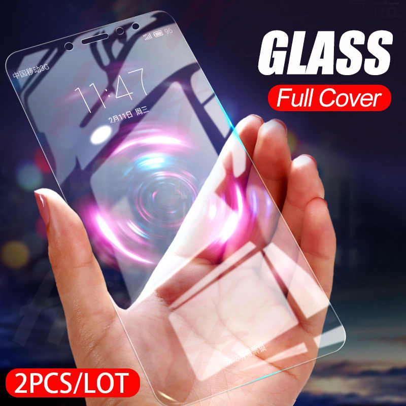 H&A 2Pcs/lot Full Tempered Glass For Huawei Honor 9 8 Lite 8X 10 Screen Protector Protective Film Honor 9lite 8lite Phone glass