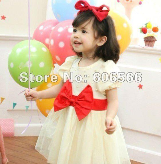 FREE SHIPPING! 5psc/lot Girls' dress, kid's dress,children's dress, girl's yarn dress,flower kid's dress,flower girl's dress