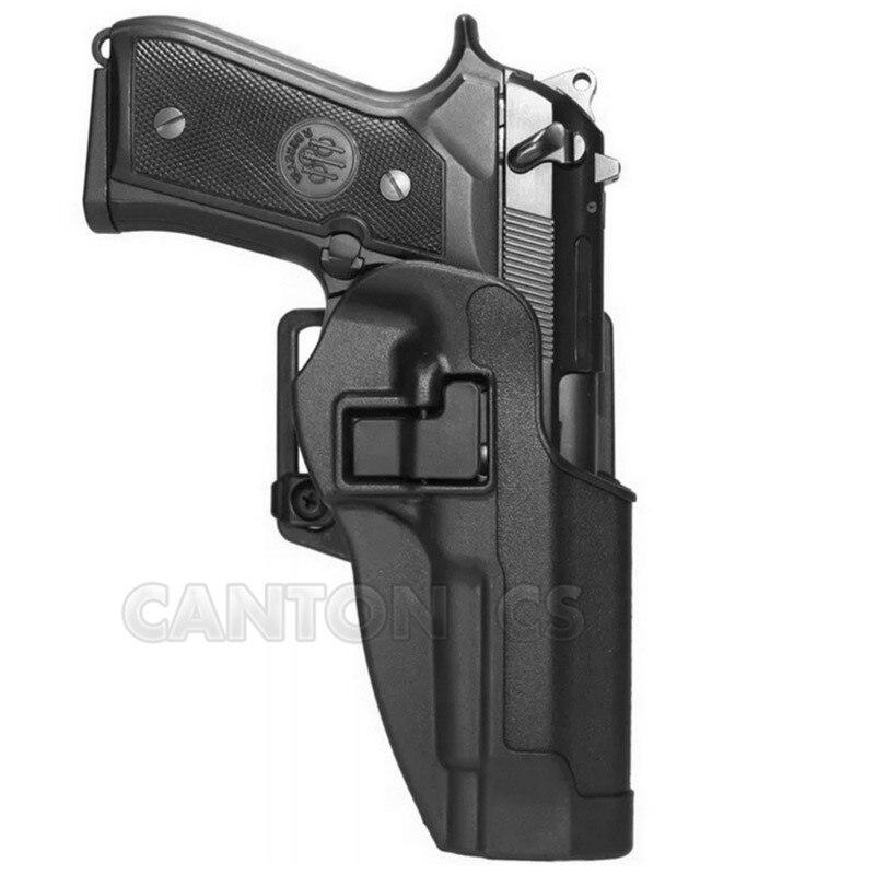 Hunting-Gun-Holster-Blackhawk-CQC-Series-Right-Left-Belt-Pistol-Holster-fits-Beretta-M9-M92-for