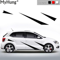 Car Body Sticker For Toyota Corolla Car Stickers And Decals Decoration Protection Sticker Car Styling Auto Accessories 2pcs