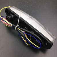 Aftermarket Free Shipping Motorcycle Parts LED Tail Brake Light Turn Signals For Kawasaki Ninja ZX6R ZX