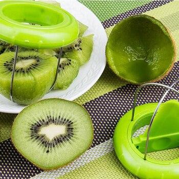 Hot Sale Mini Fruit Kiwi Cutter Peeler Slicer Kitchen Gadgets Tools Kiwi peeling tools For Pitaya Green 29 5