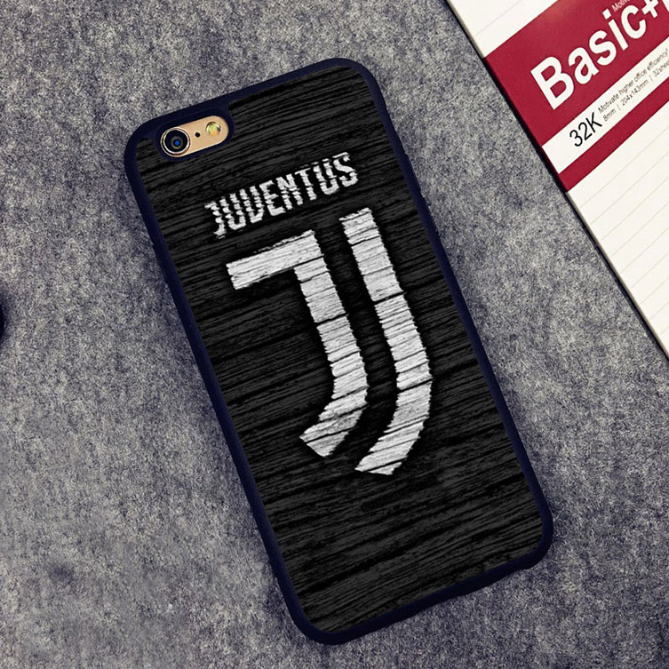Juventus Football Soccer Soft Silicone Full Protective case Cover For iPhone X 8 7 7Plus 6 6S Plus 5 5S SE