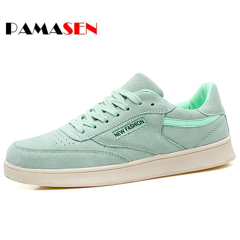 PAMASEN Cheap New Spring Genuine Leather Women Casual Shoes Woman Fashion Lace Up White Shoes Woman Flats For Lady's Size 35-40 2017 new women shoes genuine leather casual shoes flats breathable lace up soft fashion brand shoes comfortable round toe white