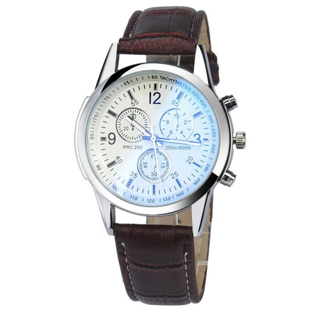 Men's Fashion and Luxury  Leather  Watch
