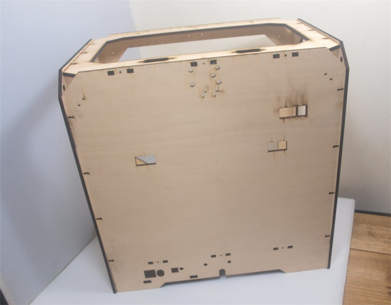 DIY-Reprap-extended-volume-Unofficial-Replicator-XL-V1-5-3D-printer-laser-cut-wooden-frame-kit (1)