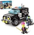 185pcs Enlighten City Series Police Swat Car Building Block sets Kids Educational Bricks Minifigure Toys Compatible With legoe