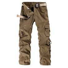 Militar Tactical Cargo Outdoor Pants Men Combat Army Training Military Pants Cotton Hunting Hike Outdoors Sport Trousers Hot