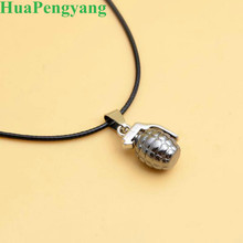 2019 New Personality Fashion Pendant Necklace Grenades Wholesale Couple Statement