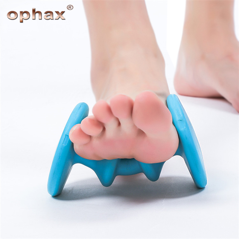 OPHAX Roller Foot Massage ABS Acupoint Massage Device Comfortable Relaxation Tools Plantar Fasciitis Relax Foot Massage Products electric antistress therapy rollers shiatsu kneading foot legs arms massager vibrator foot massage machine foot care device hot
