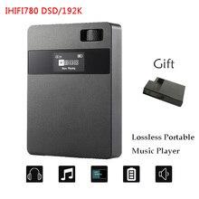 2017 Nueva XUELIN IHIFI780 DSD64 Audio Sin Pérdidas de ALTA FIDELIDAD Reproductor de Música Portátil 192 KHz Alta Calidad Mini Sport MP3 Player + Funda de cuero