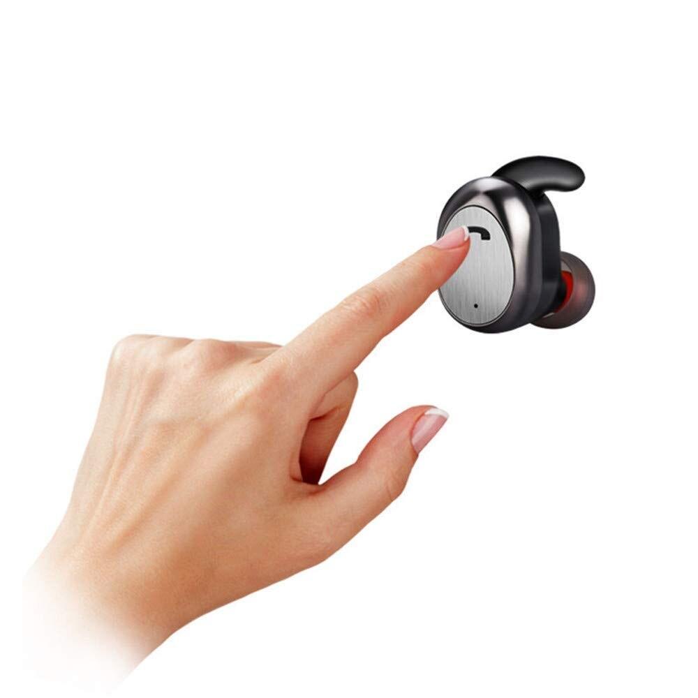M9 TWS mini écouteurs sans fil Bluetooth écouteurs avec micro mains libres sans fil Mini écouteurs pour Xiaomi pour Elari Nanopods - 4