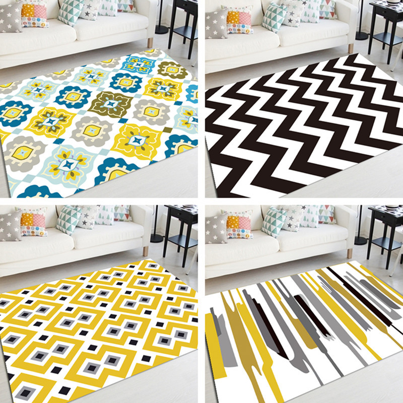 Gedruckt Teppiche Wohnzimmer Schlafzimmer Bett Teppich Schlafzimmer  Nicht Slip Boden Teppiche Für Küche Teppich Tür Matten Im Freien Matte  Fußmatte