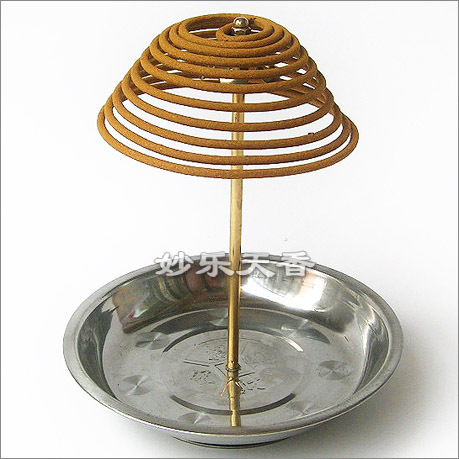 Incense Coil bracket burner,Height can be adjusted It is easy to assemble also suitable for outdoor use,Incense tray