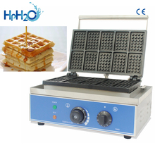 цена на Commercial Non-stick 10 pcs electric egg belgian waffle maker waffle pops baker cake oven waffle machine
