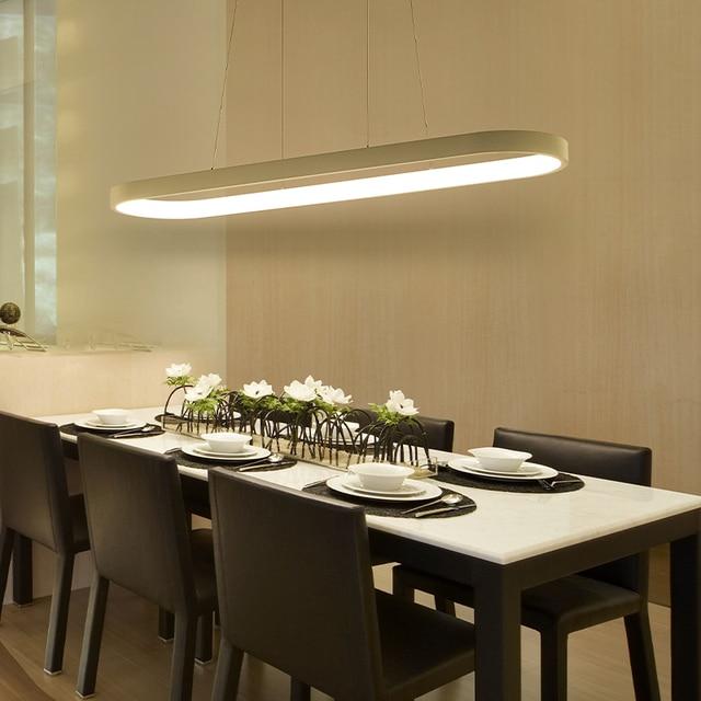 US $201.28 15% OFF|Moderne Led Kronleuchter Für Wohnzimmer Esszimmer Küche  Zimmer lampadari moderni eine sospensione AC85 265V Hängen Anhänger ...