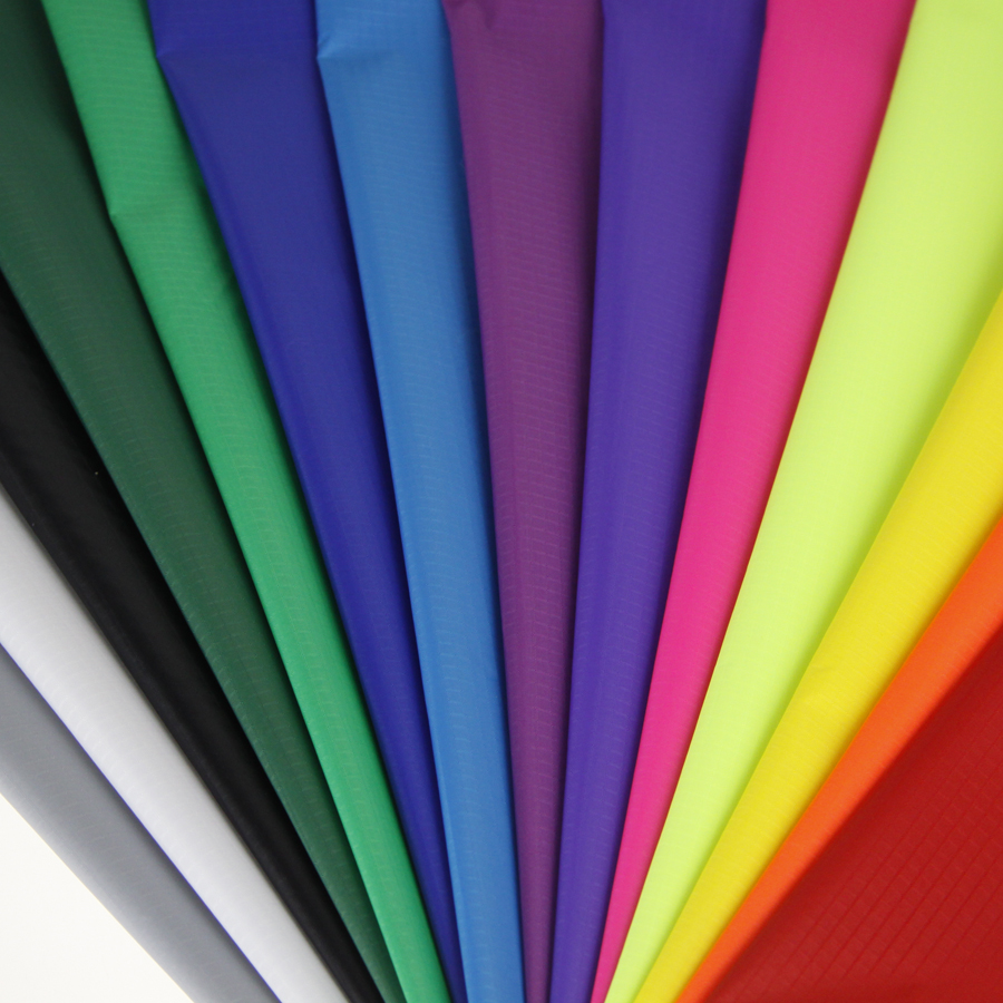 Discount outdoor fabric by the yard - 16 Yards 16 Colors Ripstop Nylon Fabric For Kite 1 7yard Width Outdoor Waterproof Fabric For