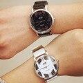 Moda Super Star Dragon EXO Mesma Seção Oca Relógios Fãs da marca BGG Exclusivo Das Mulheres À Moda Casual Homens relógio de Pulso de Quartzo Relógio