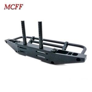 Image 5 - Universal Metal Front Anti collision Bumper For 1/10 RC Crawler TRX4 Defender Bronco Axial Scx10 90046 90047