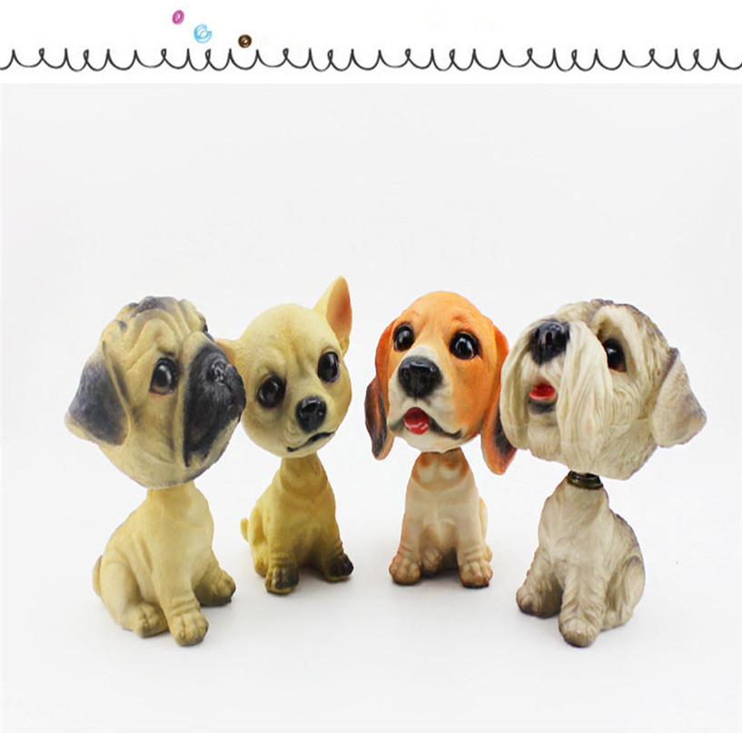 Cute Car Shaking His Head Dog Ornaments To Drive font b Vehicle b font Furnishings Decoration