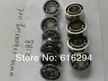 R188kk R188UU 10 steel balls R188 YOYO ball bearings U groove bearings 6 35 12 7