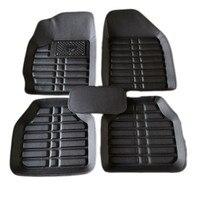 Universal car floor mats for peugeot 307 206 308 308S 407 207 406 408 301 508 5008 2008 3008 4008 RCZ auto accessories
