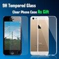 Protetor de tela de vidro temperado para apple iphone 5 5c 5s se lcd tela de proteção de vidro filme de vidro para iphone 5s i5 5