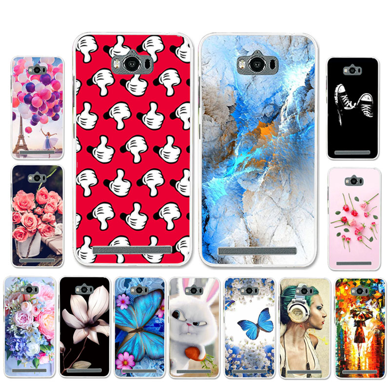 Ojeleye Patterned-Silicon-Case Phone-Cover-Bags Zc550kl Case Asus Zenfone Cartoon No