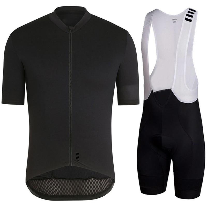 High quality 2018 Summer short sleeve Jersey Bib Shorts Kit Pro Team racing MTB Cycling Clothing bike shorts set Ropa Ciclismo