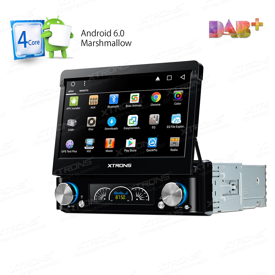 7 universal android single one 1 din car dvd dab radio. Black Bedroom Furniture Sets. Home Design Ideas