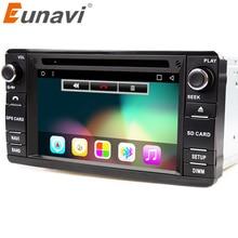 Eunavi Android 7,1 2 Din автомобильный DVD плеер для Mitsubishi Outlander 2013-2016 Pajero 2din Радио Стерео gps навигации С Wifi BT