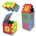 Высокое Качество 36 Шт. Ребенок Количество Пены Алфавита ЕВА Головоломки Коврики Развивающие Игрушки Подарок Бесплатная Доставка
