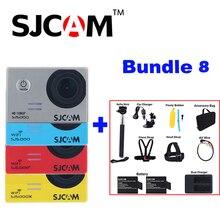 Оригинальный SJCAM SJ5000X Elite SJ5000 плюс SJ5000 WI-FI SJ5000 30 м Водонепроницаемый Спорт действий Камера SJ ca M видеорегистратор с много Аксессуары