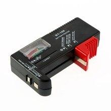 BT-168 батарейки AA/AAA/C/D/9 В/1,5 в, универсальный кнопочный элемент батареи, цветной кодовый измеритель, указывающий тестер напряжения, проверки BT168