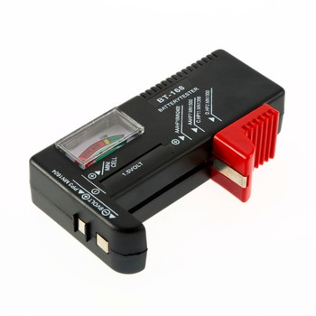 BT-168 AA/AAA/C/D/9V/1.5V batteries Universal Button Cell Battery Colour Coded Meter Indicate Volt Tester Checker BT168