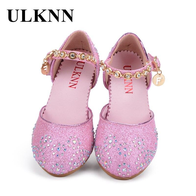 Rosa Schule Schuhe Atmungs ulknn Sandalen In Kinder Sandale Schuh Mädchen Prinzessin 25Off Us12 Strass Sommer 82 Für 76vmbIygYf
