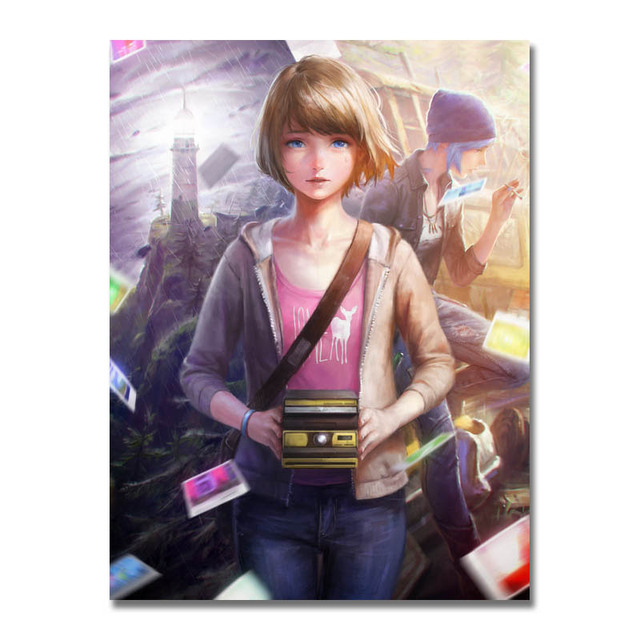 Life Is Strange Game Art Canvas Poster Prints 8x11 24x32 inch Home Decoration
