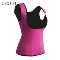 Women Neoprene Vest Waist Trainer Corset Sweat Body Shaper Slimming Vest Top Quality Workout Corset Underbust Waist Trainer 5XL