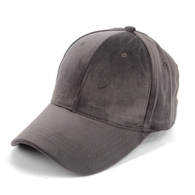 Winfox  Women Mens Black Grey Red Suede Baseball Caps Snapback Hip Hop Hats