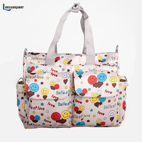 Lanxuanjiaer Baby Diaper Bags Mummy Tote Organizer Handle Bag New Large Capacity Multi Fashion Color Function