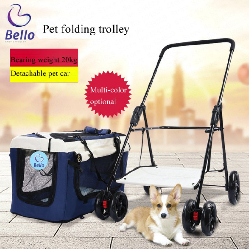 Premium 3-in-1 Soft Sided Detachable Pet Carrier Travel Crate and Pet Stroller  Bearing 20KG Cheap for Sale  Airy WindowsPremium 3-in-1 Soft Sided Detachable Pet Carrier Travel Crate and Pet Stroller  Bearing 20KG Cheap for Sale  Airy Windows