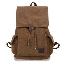 New Vintage Backpack Fashion Canvas Backpack Leisure Travel School Bags Laptop Computers Backpacks Men Backpacks Mochilas
