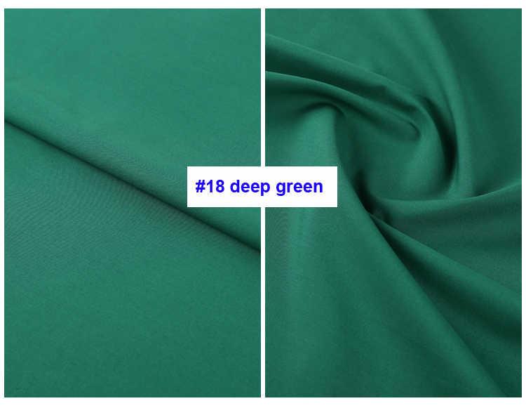 Tela de popelina de algodón puro de Color liso 50s vestido de Material de camisa de verano fino