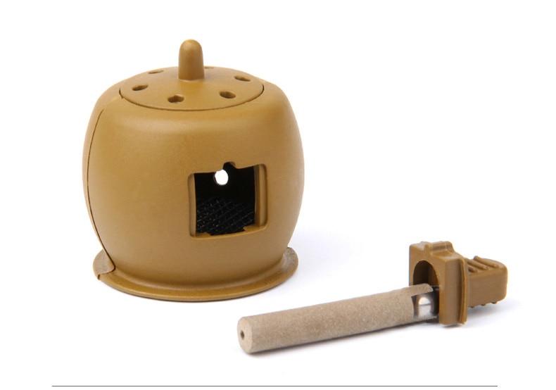 Moxa Stick Box Pot Warming Moxibustion Tin Massage Therapy For Arm Leg Abdomen Beauty Salon Home Use Body Care Tool beauty body 500pcs box acupuncture needle use disposable sterile massage