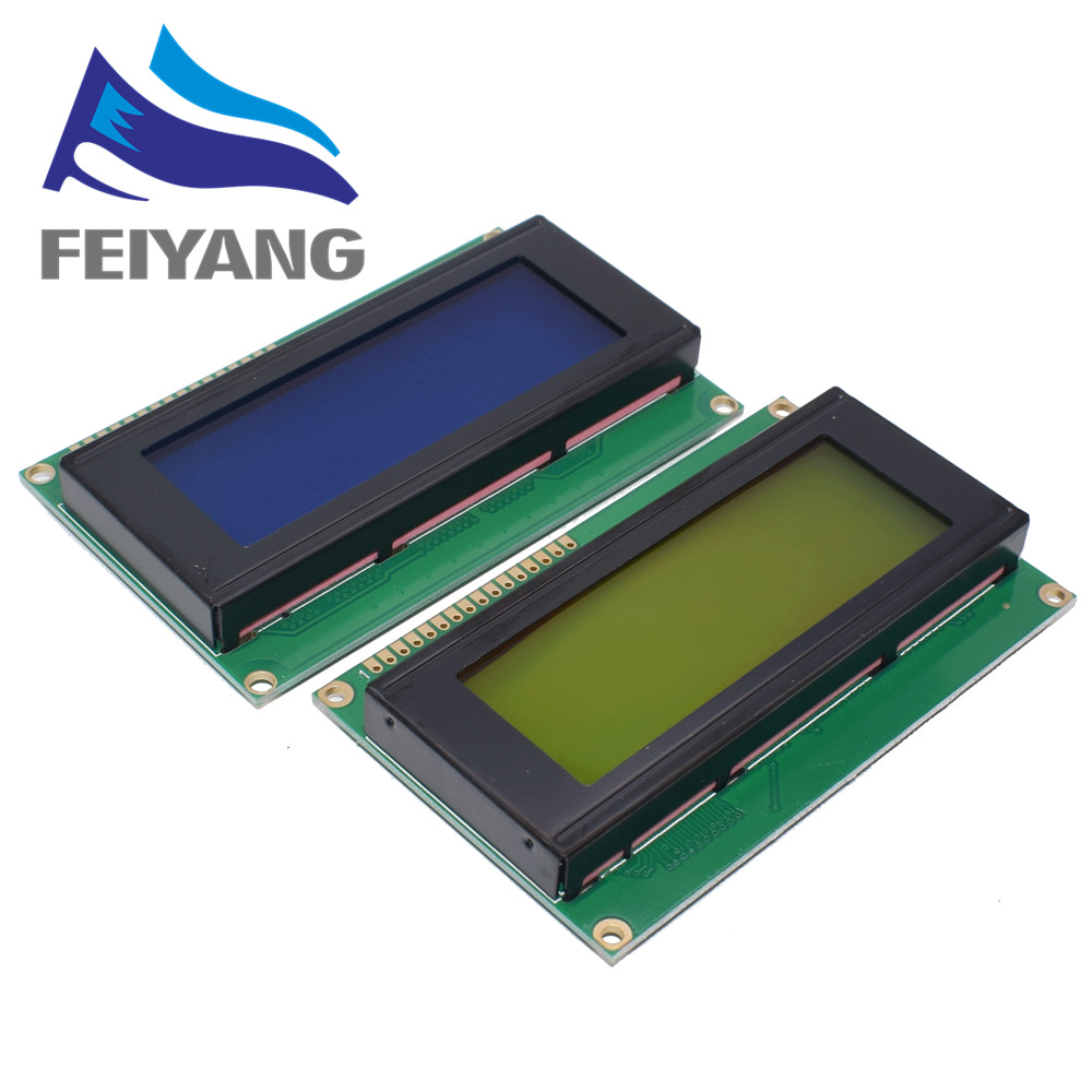 5PCS LCD Board 2004 20*4 LCD 20X4 5V Blue/Green Screen LCD2004 Display LCD Module LCD 2004