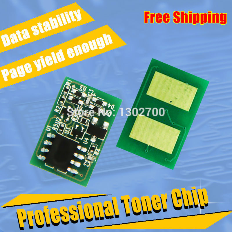 NEW 45536520 45536519 45536518 45536517 Toner Cartridge chip For OKI data C911 C931 C941 911 931 941 printer power Refill reset used for oki b420 mb440 mb480 43979206 printer cartridge toner reset chip