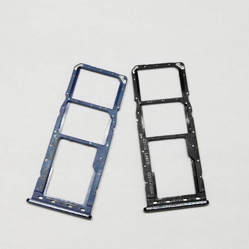 SIM Card Tray Slot Holder + Micro SD Memory Sim Holder Adapter For Samsung Galaxy A20 A30 A50 A205F A305F A505F A205 A305 A505