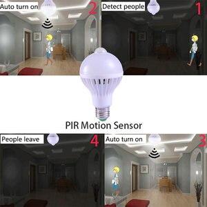 Image 3 - E27 Led Bulb with Motion Sensor Light 220V 110V PIR Bulbs Smart Lamp Child Night Light Ampoule Bombillas 5W 7W 9W Home Lighting