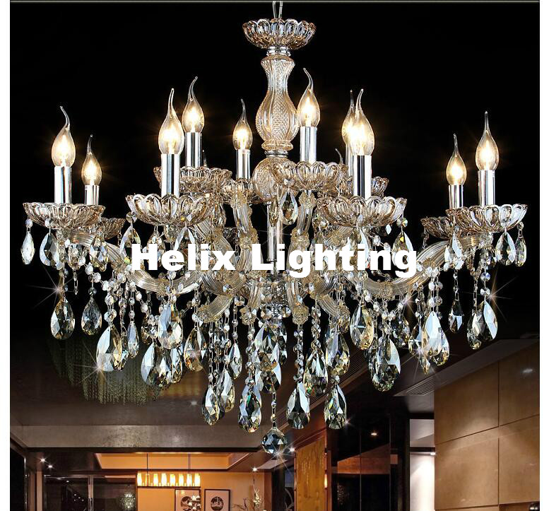 Antique Candle Chandeliers Champagne Crystal Chandelier: New Arrival Crystal Chandelier AC Champagne Candle